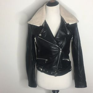 Type Alpha Jackets Coats Leather Ride Or Die Moto Poshmark